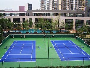 硅pu网球chang